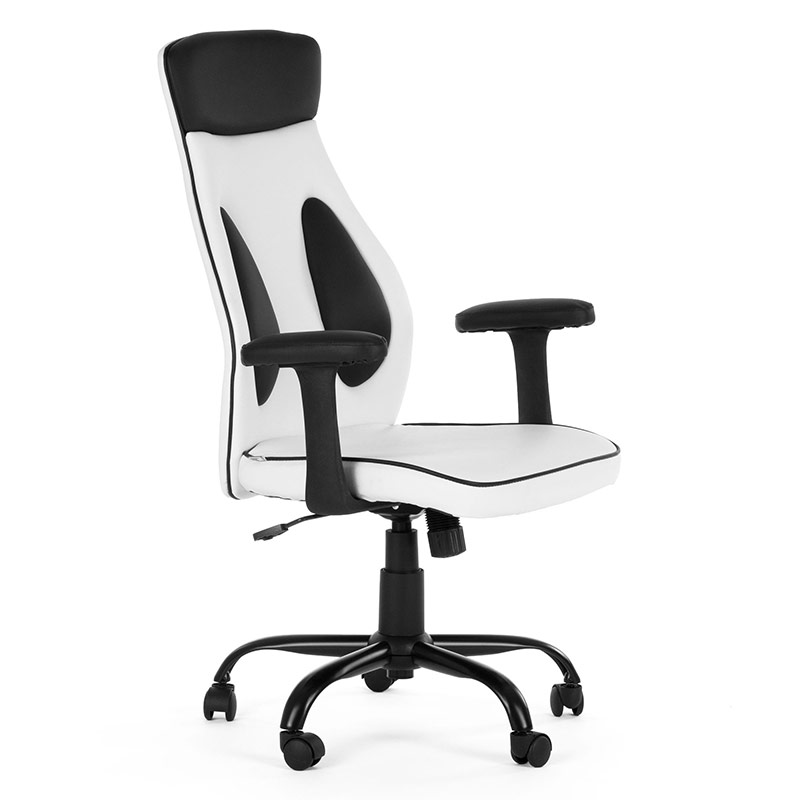Chefsessel-Schreibtischstuhl-Drehstuhl-Design-Kunstleder-Stuhl-4
