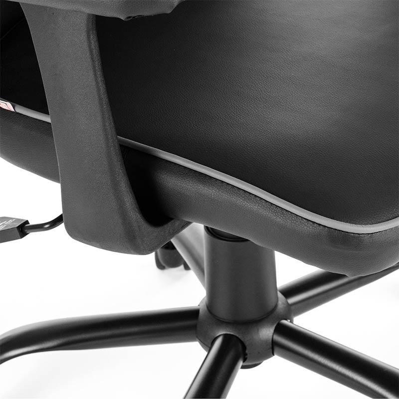 2-Chefsessel-Schreibtischstuhl-Drehstuhl-Design-Kunstleder-Stuhl