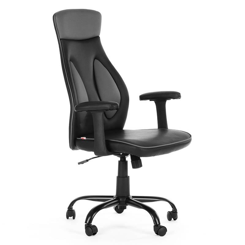 3-Chefsessel-Schreibtischstuhl-Drehstuhl-Design-Kunstleder-Stuhl
