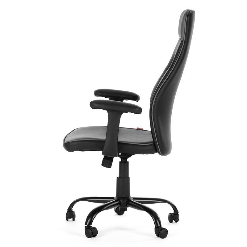 6-Chefsessel-Schreibtischstuhl-Drehstuhl-Design-Kunstleder-Stuhl