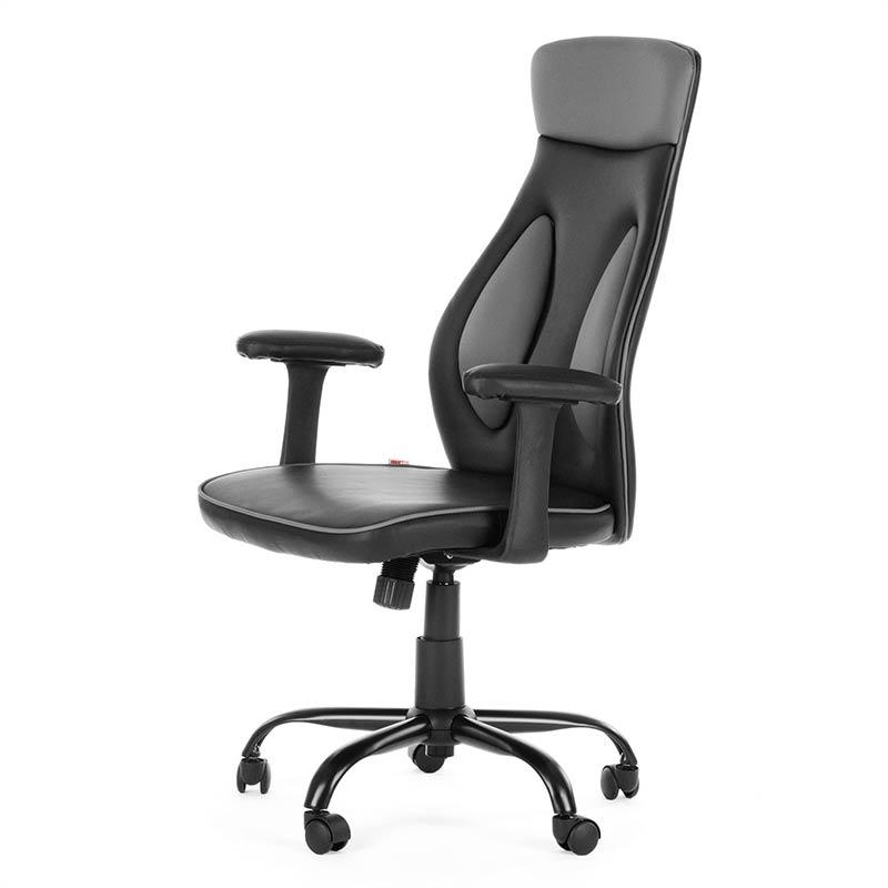 7-Chefsessel-Schreibtischstuhl-Drehstuhl-Design-Kunstleder-Stuhl