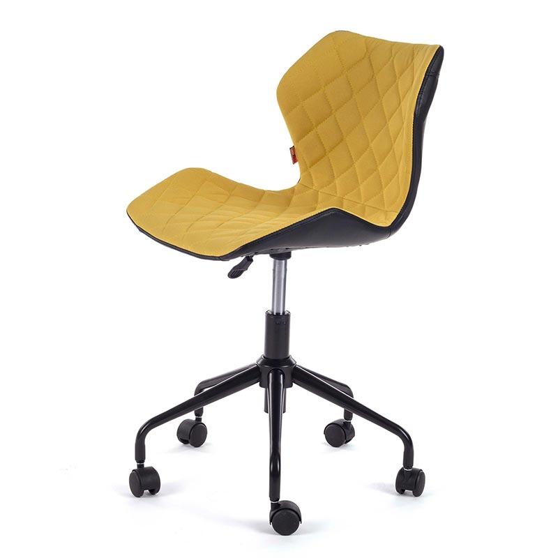 Burostuhl-Arbeitsstuhl-Drehocker-my-sit-gelb-Rollhocker-Drehstuhl-