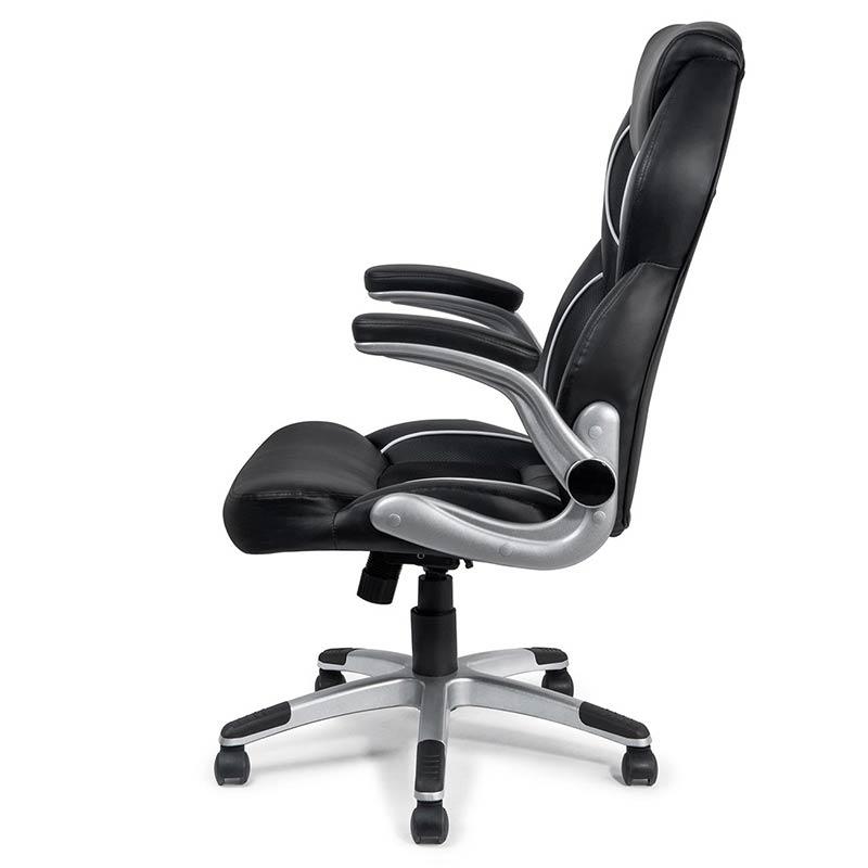 Chefsessel-Schreibtischstuhl-Drehstuhl-Design-Kunstleder-Stuhl-Schwarz-my-sit-4