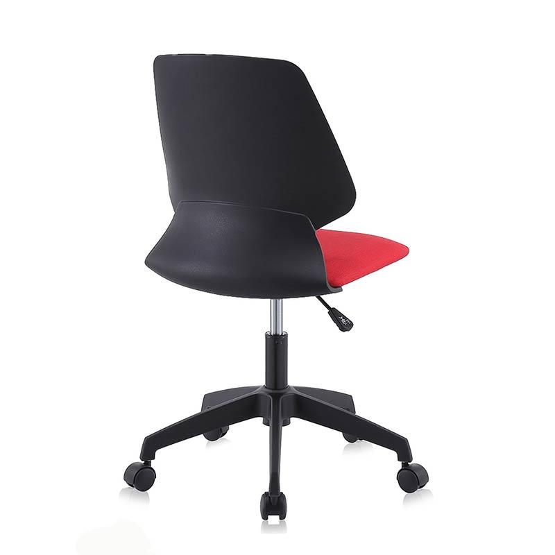 Chefsessel-Schreibtischstuhl-Drehstuhl-Design-Stoff-Stuhl-Schwarz-Rot-my-sit-eu