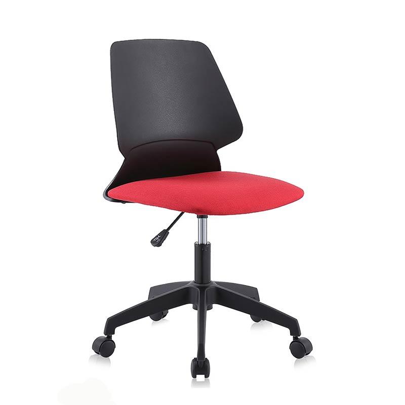 Chefsessel-Schreibtischstuhl-Drehstuhl-Design-Stoff-Stuhl-Schwarz-Rot-my-sit