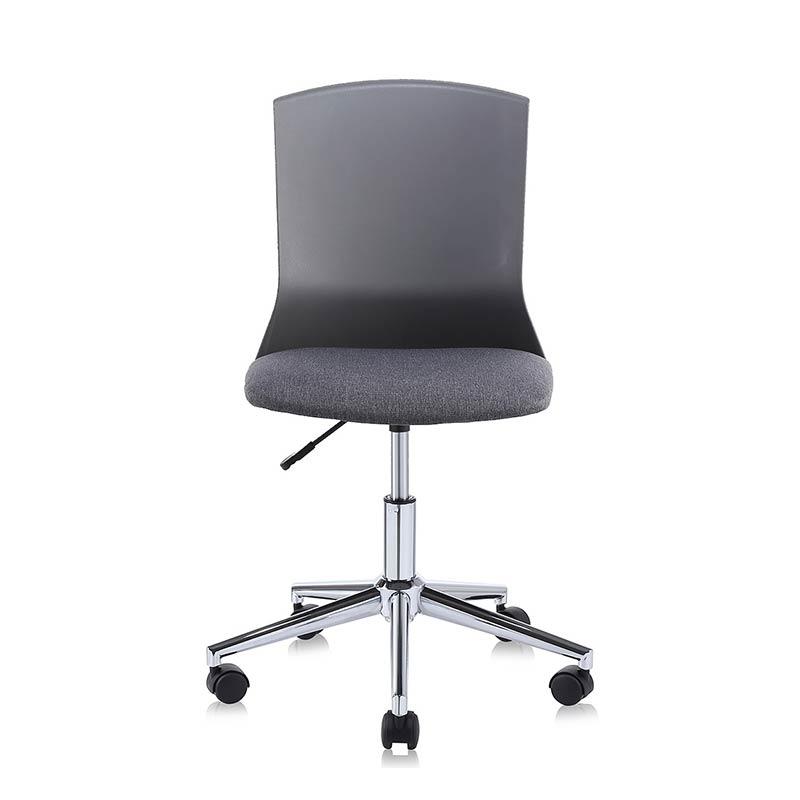 Chefsessel-Schreibtischstuhl-Drehstuhl-Design-Stoff-Stuhl-Schwarz-grau