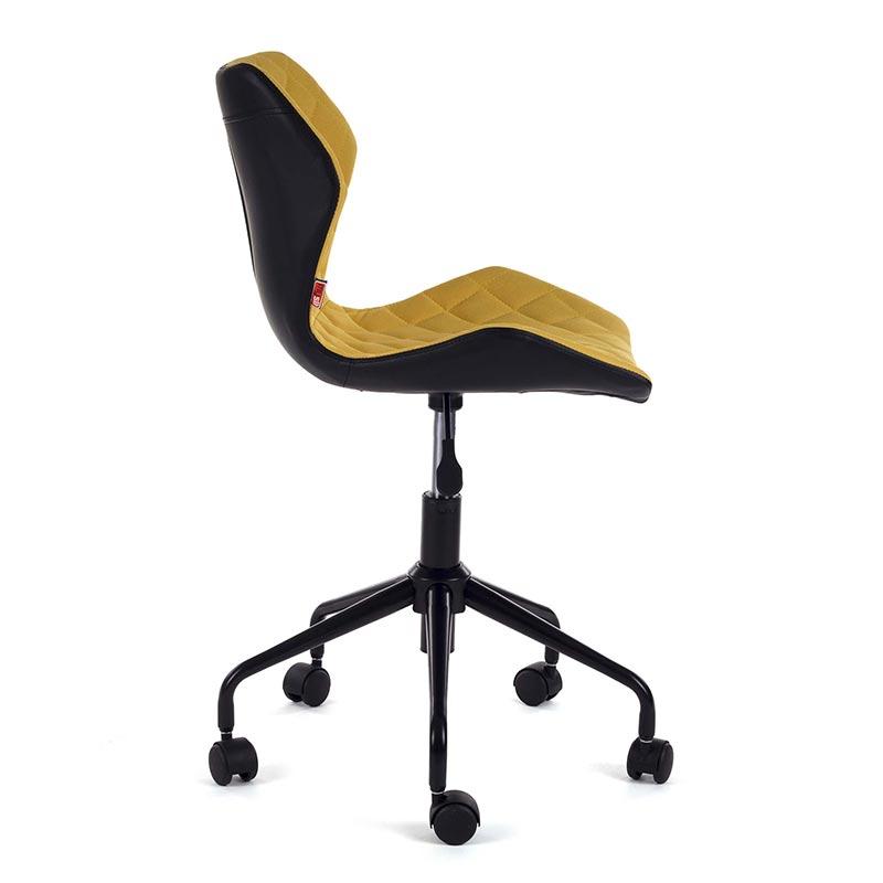 Rollhocker-Arbeitshocker-Drehstuhl-Burostuhl-Arbeitsstuhl-Drehocker-my-sit-gelb